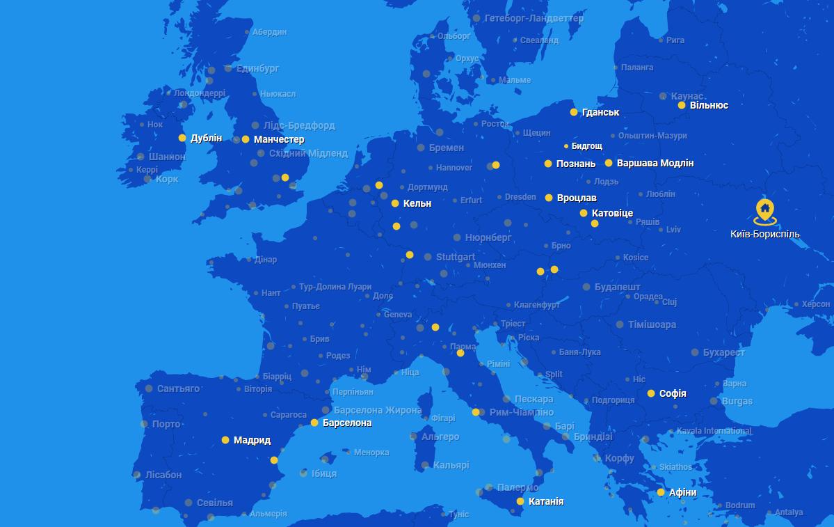 Европейские лоукостеры - RyaAir