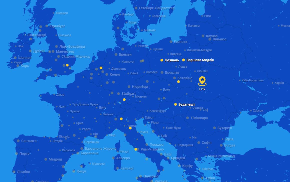 Европейские лоукостеры - RyanAir